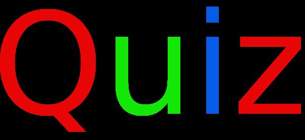 Questionários no formato - Quiz